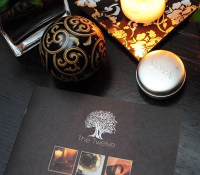 The Twelves Petit Spa Brochure on Spa Treatments Available and Spa Etiquette